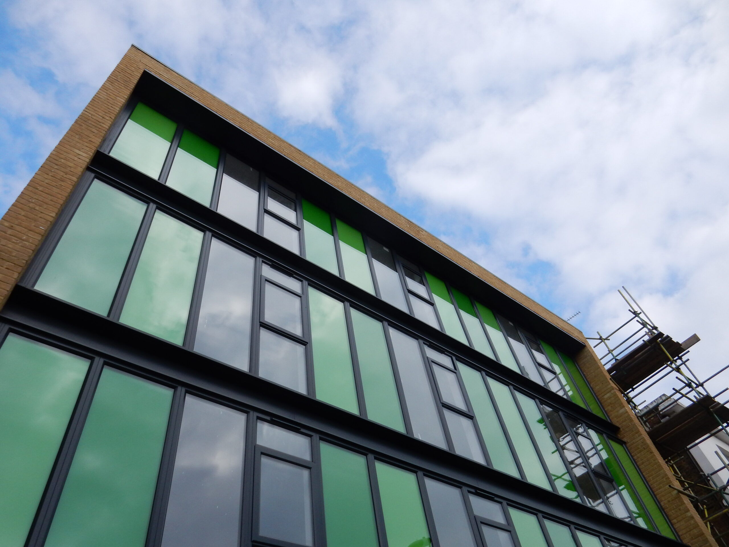New build sheltered housing building, Wandsworth, London