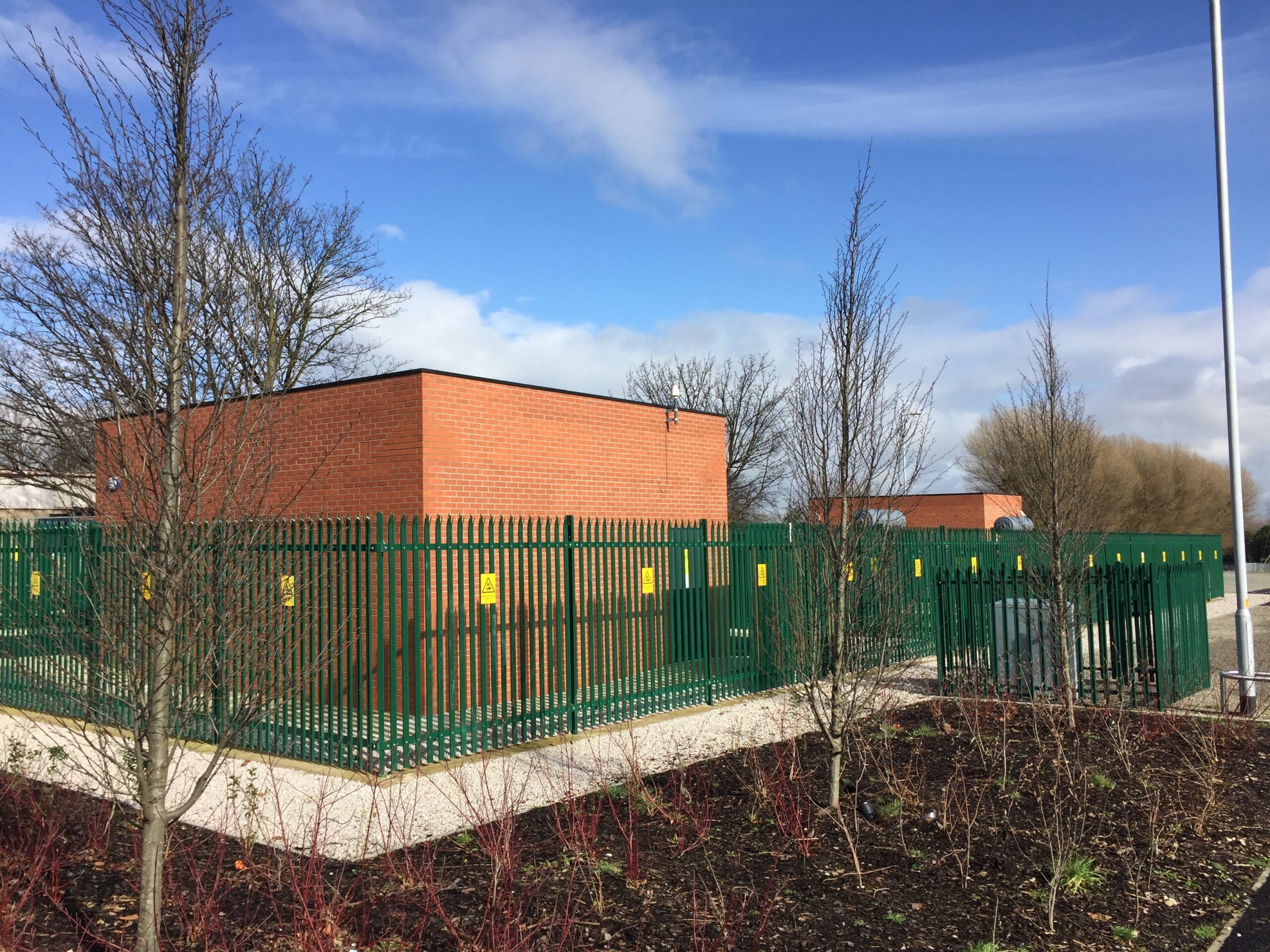 New build primary substation